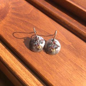 Silpada Sterling Silver Glass Bead Earrings!